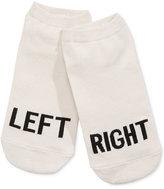 Kate Spade Women's Right/Left No-Show Socks
