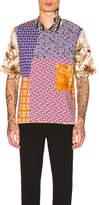 Pierre Louis Mascia Pierre-Louis Mascia Razzoli Patchwork Shirt