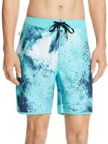 Hurley Phantom Burst Tie-Dye Print Board Shorts