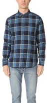 Current/Elliott Plaid Ruler Fit Shirt