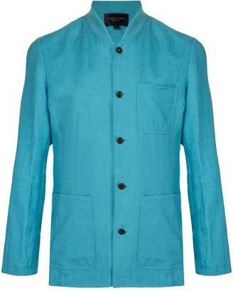 Shanghai Tang Bomber Collar Fitted Jacket