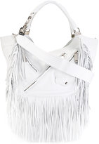 DSQUARED2 Babe Wire fringed hobo bag - women - Leather - One Size