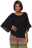Curations Caravan Bell Sleeve Top