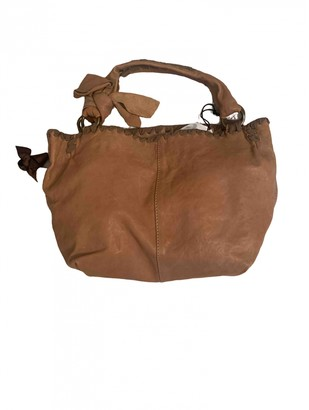 Maliparmi Beige Leather Handbags