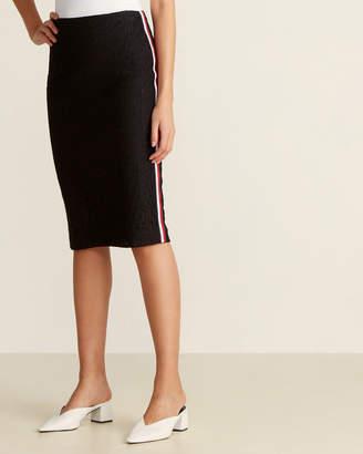 Tommy Hilfiger Monogram Lace Skirt