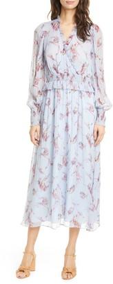 Joie Yashi Long Sleeve Silk Dress