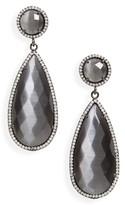 Susan Hanover Women's Semiprecious Stone Teardrop Earrings