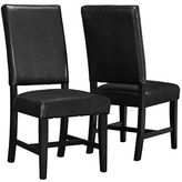 Monarch Set of Two Padded Dining Chairs