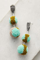 Mignonne Gavigan Double Pom Pom Drop Earrings