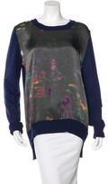 Preen Printed Long Sleeve Sweater