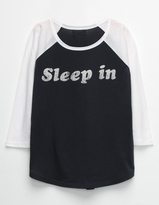 Full Tilt Sleep In Girls Raglan Tee
