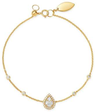 Madhuri Parson 14K Yellow Gold Diamond Essentials Mango Diamond Bracelet