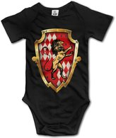 CUTEBABY Toddler Harry Potter Hogwarts Gryffindor Short-Sleeve Bodysuit Onesies