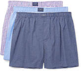 Polo Ralph Lauren - Three-Pack Cotton-Poplin Boxer Shorts