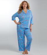 Karen Neuburger Dynasty Knit Pajama Set Plus Size