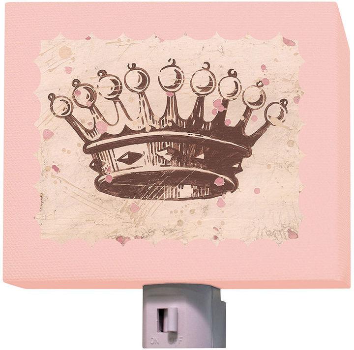 Oopsy Daisy Fine Art For Kids Night Light, Princess Crown