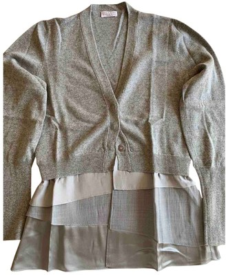 Brunello Cucinelli Grey Cashmere Knitwear for Women