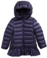 Moncler Girl's Nadra Hooded Down Jacket