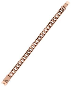 Sutton by Rhona Sutton Sutton Stainless Steel Curb Link Chain Bracelet