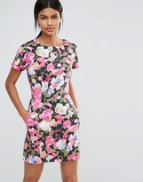 French Connection Adeline Dream Floral Print Shift Dress
