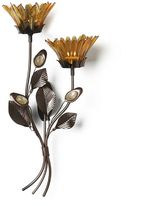 Mikasa Flower Wall Sconce