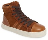 Kenneth Cole New York Boy's Jay Top High-Top Zip Sneaker