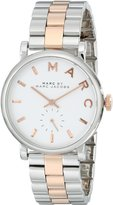 Marc Jacobs Marc by Women's MBM3312 Baker Two-Tone Stainless Bracelet Watch