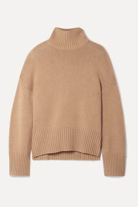 Loro Piana Cashmere Turtleneck Sweater - Tan