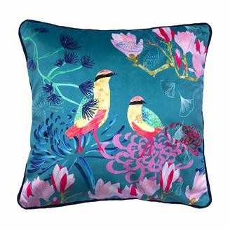Amanda West Songbird Velvet Cushion