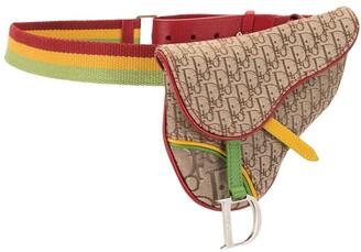Christian Dior pre-owned Trotter Saddle belt bag