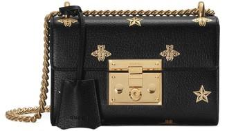 Gucci Padlock Bee Star small shoulder bag