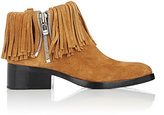 3.1 Phillip Lim Women's Fringed Alexa Booties-TAN