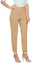 Joan Rivers Classics Collection As Is Joan Rivers Petite Signature Pull-on Ankle Pants