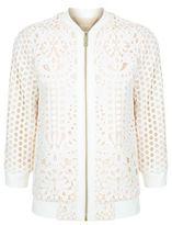 Ted Baker Hillian Lace Overlay Jacket