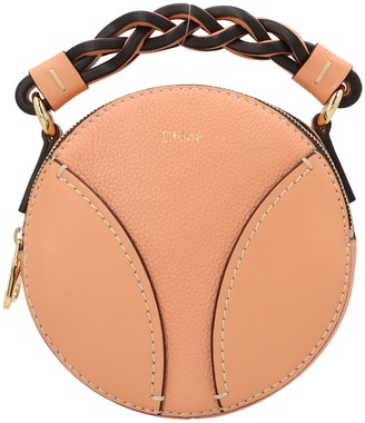 Chloé Mini Daria Round Crossbody Bag