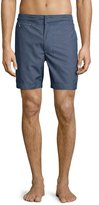 Robert Graham Ocean Classic Fit Swim Trunks, Black