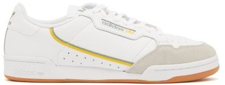 adidas Continental 80 Leather Trainers - Mens - White Multi