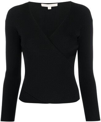 Jonathan Simkhai Ribbed V-Neck Top