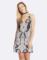 Deshabille Harmony Dress Black / Pink
