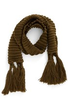 BP Women's Fringe Knit Scarf