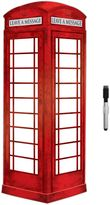 Bed Bath & Beyond London Phone Booth Dry Erase Message Board