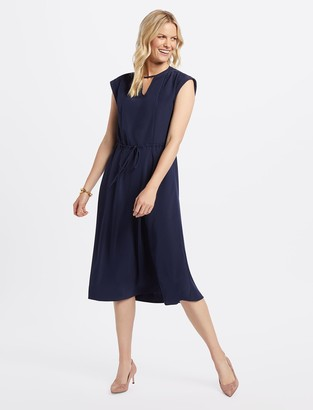 Draper James Keyhole Midi Dress