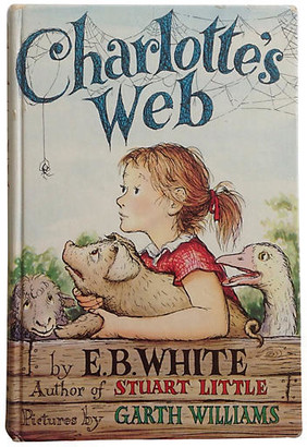 One Kings Lane Vintage Charlotte's Web - Early Edition - Brandywine Bookshop - multi