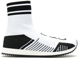 Dolce & Gabbana Logo Sock Sneakers