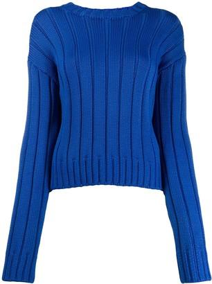 Derek Lam 10 Crosby Iola Neon Sweater