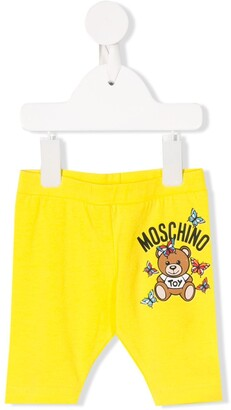 MOSCHINO BAMBINO Logo Slim-Fit Trousers