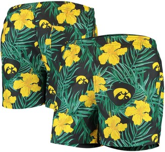 Men's Black Iowa Hawkeyes Swimming Trunks