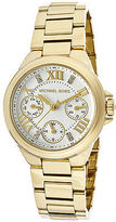 Michael Kors MK5759W Women's Camille Gold-Tone Stainless Steel White Dial