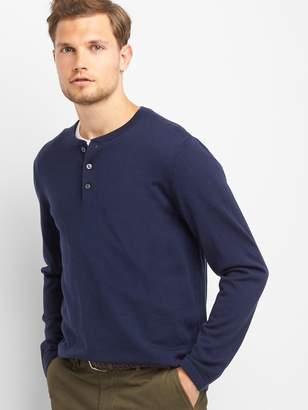 Gap Merino wool henley sweater