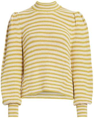 Eleven Paris Six Mia Striped Alpaca Sweater